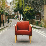 chaise rue siège chair seul