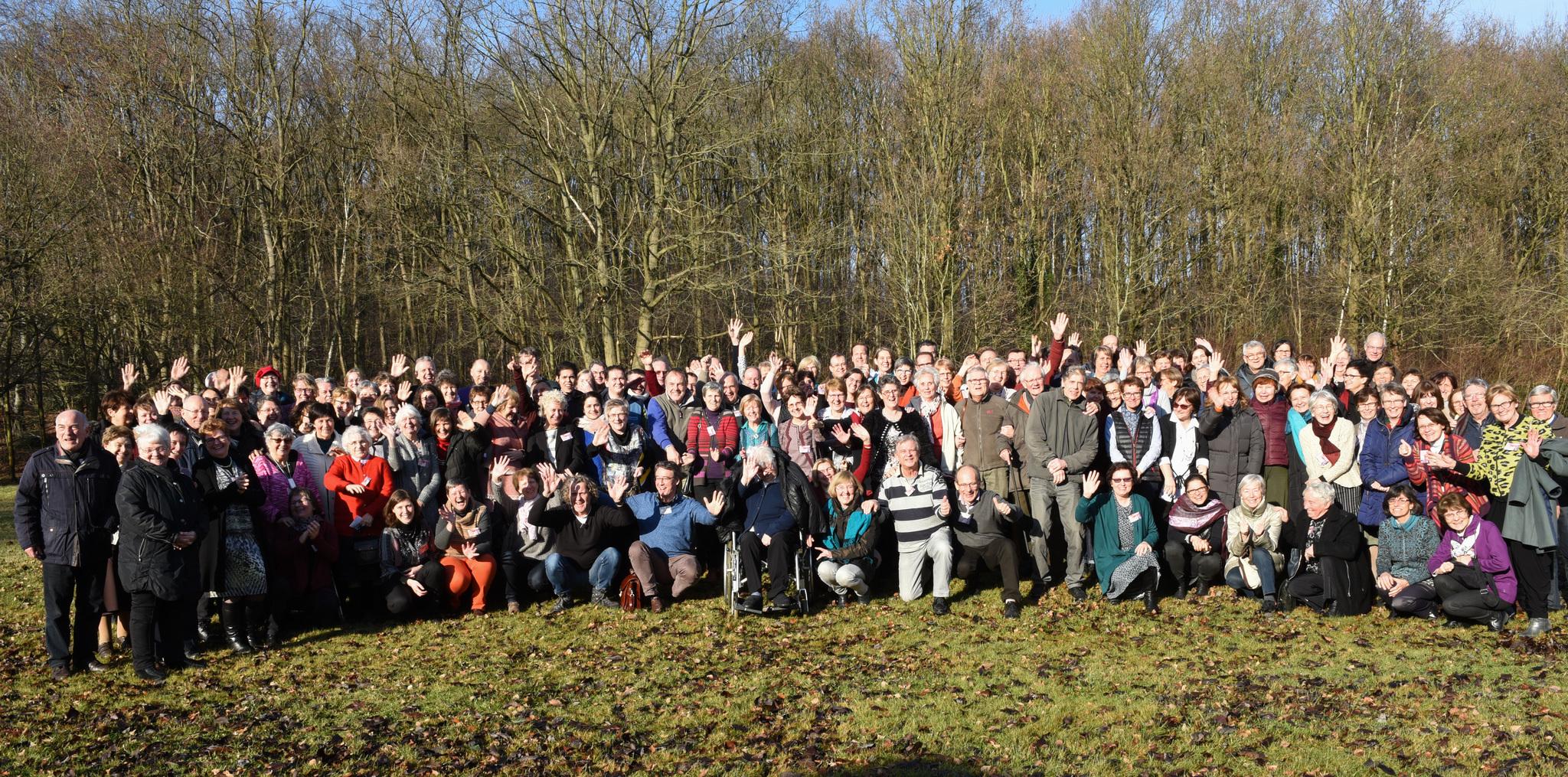 Echos de la retraite annuelle de 150 focolarinis à Rotselaar