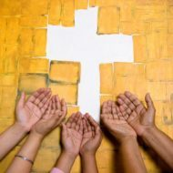oecumenism cross one in christ
