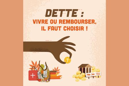 4 Mars | « Annulons une dette injuste et meurtrière» - 4 jeudis solidaires pour vivre le Carême de partage