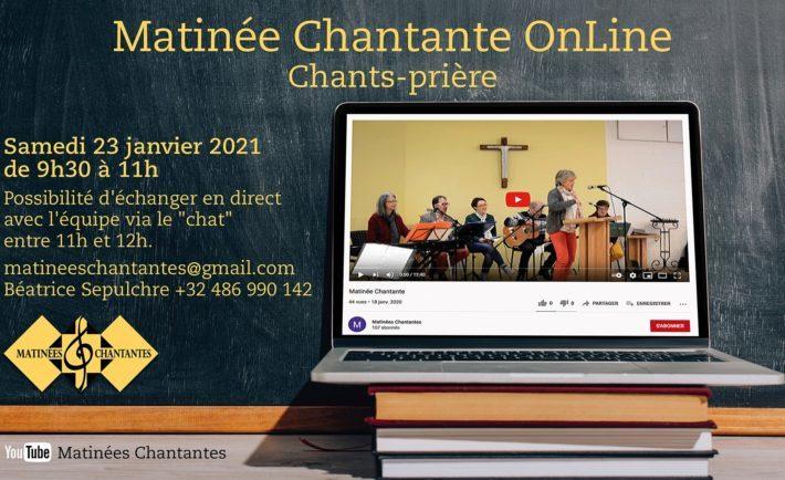 23 Janvier | Matinée Chantante Online