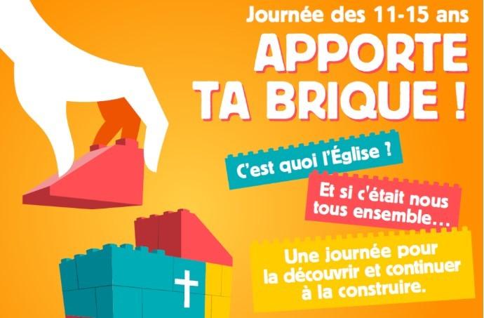 6 Mars | Apporte ta brique ! Journée des 11-15 ans