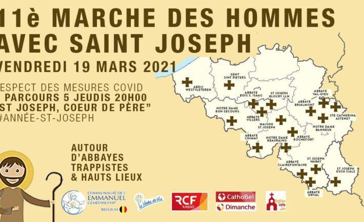 19 Mars | 11ème Marche des hommes avec St Joseph