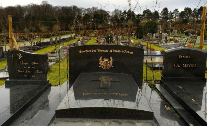 Action Toussaint 2021 | Présence dans le cimetière d'Uccle et de Jette à l'occasion de la Toussaint